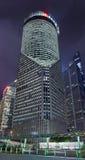 China Bank Tower at Lujiazui area at night, Shanghai, China Royalty Free Stock Photo
