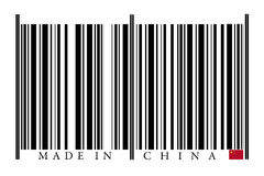 China Barcode Royalty Free Stock Photography