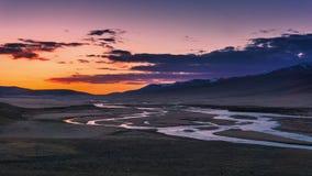 China Bayinbuluke grassland in Xinjiang Royalty Free Stock Images