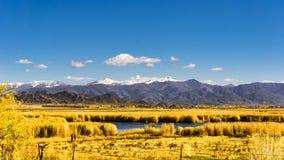 China Bayinbuluke grassland in Xinjiang Royalty Free Stock Photography