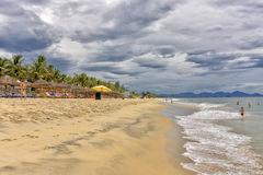 China Beach near Hoi An, Vietnam Stock Photo