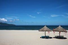 China beach in vietnam royalty free stock photos