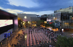 China Beijing Apple Store�Sanlitun Village Royalty Free Stock Images