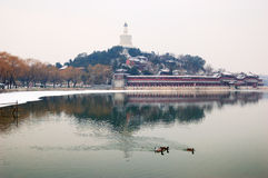 China Beijing  Beihai Park  Royalty Free Stock Photo