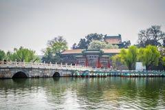 China, Beijing, Beihai Park Stock Photo