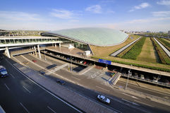 China Beijing Capital  Airport Royalty Free Stock Photography