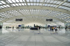 China Beijing Capital  Airport Royalty Free Stock Images