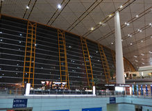 China Beijing Capital  Airport Royalty Free Stock Photos