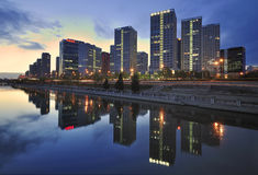China Beijing CBD city Economic centers Royalty Free Stock Photography
