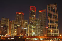 China Beijing CBD Modern Office Building Royalty Free Stock Image
