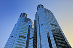 China Beijing CBD Office Building Royalty Free Stock Photo