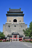 China Beijing central axis-Drum Tower Royalty Free Stock Images