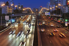 China Beijing City Road and  Highway Royalty Free Stock Image
