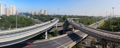 China Beijing City Road and  Highway Royalty Free Stock Photos