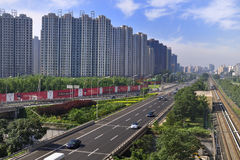 China Beijing City Road and  Highway Royalty Free Stock Photography
