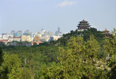 China Beijing cityscape-Jingshan Park Stock Image