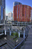China Beijing Commercial Street�Sanlitun Village Royalty Free Stock Image