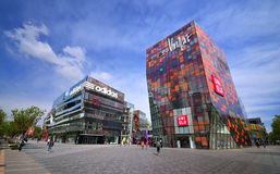 China Beijing Commercial Street�Sanlitun Village Royalty Free Stock Photography