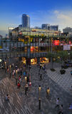 China Beijing Commercial Street—Sanlitun Village Stock Photography