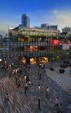 China Beijing Commercial Street—Sanlitun Village Stock Photography