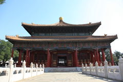 China Beijing confucian temple. This picture was taken in Beijing, the Confucius Temple is a commemoration of ancient Chinese educator Confucius, the founder of Royalty Free Stock Images
