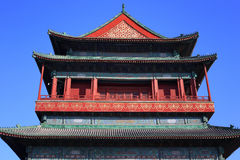 China Beijing Drum Tower Royalty Free Stock Photography