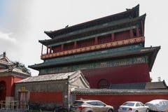 China, Beijing. Drum Tower Stock Photography