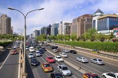 China Beijing Finance Street, Urban Landscape Royalty Free Stock Photo