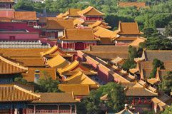 China Beijing Forbidden City Stock Photos