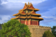 China Beijing Forbidden City And Cloud Stock Image