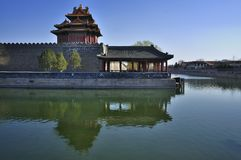 China Beijing Forbidden City Gate Tower Royalty Free Stock Photography