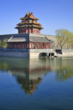 China Beijing Forbidden City Gate Tower Stock Images