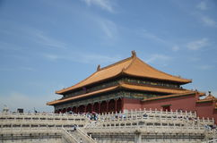 China beijing forbidden-city- history site Royalty Free Stock Images