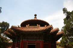 China beijing forbidden-city- history site Stock Photography