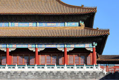 China Beijing Forbidden City Royalty Free Stock Photography