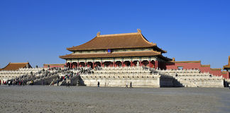 China Beijing Forbidden City Palace Royalty Free Stock Photography