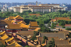 China Beijing Forbidden City palace Royalty Free Stock Photos