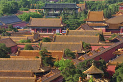 China Beijing Forbidden City Palace. Lying at the center of Beijing, the Forbidden City, called Gu Gong, in Chinese, was the imperial palace during the Ming and royalty free stock photo
