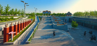 China Beijing Olympic Park Royalty Free Stock Photography