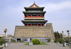 China Beijing  Qianmen  gate tower Royalty Free Stock Images
