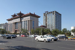 China. Beijing s streetscape Royalty Free Stock Photo