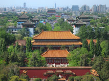 China Beijing skyline Royalty Free Stock Photos