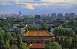 China Beijing skyline-Drum Tower Stock Photos