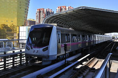 China Beijing Subway Stock Images