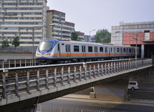 China Beijing Subway,Light Rail Royalty Free Stock Photography