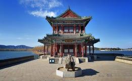China Beijing Summer Palace  Pavilion Stock Photos