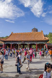 China, Beijing. Summer Palace (Yihe Yuan).  Gate of Dispelling Clouds (Paiyunmen) Royalty Free Stock Images