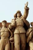 China, Beijing: Tiananmen square Royalty Free Stock Photos