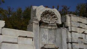 China beijing yuanmingyuan,history legacy wreckage,royal garden pillars. This is china beijing yuanmingyuan,history legacy wreckage,royal garden pillars stock footage