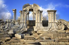China Beijing Yuanmingyuan Ruins-Old Summer Palace Royalty Free Stock Photography